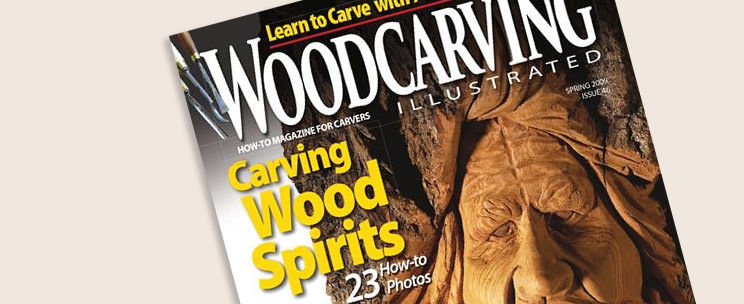 Magazin Woodcarving Illustrated