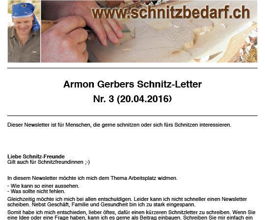 Schnitzletter 3