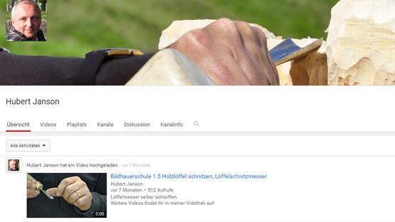 Hubert Janson Youtube Channel