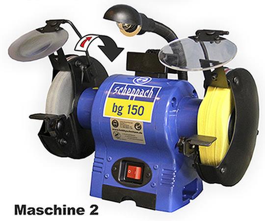 Schleifmaschine Doppelschleifer Profimaschine 2