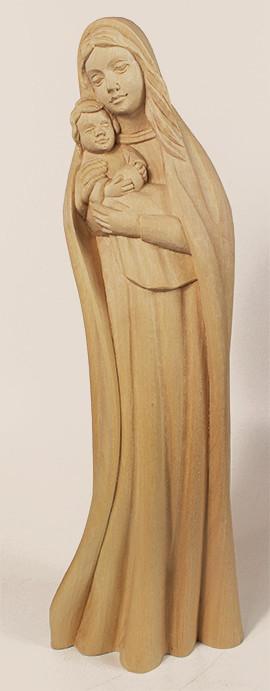 geschnitzte Holzfigur