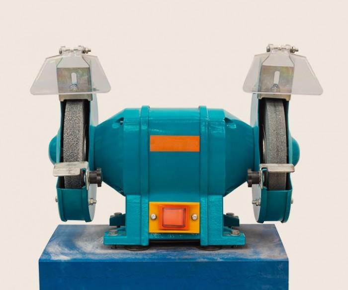 einfache Schleifmaschine
