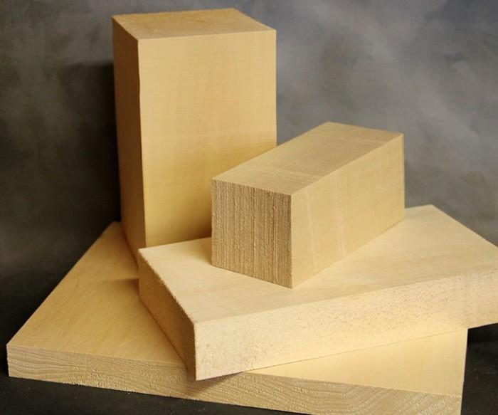 Holz Holzblock zum Schnitzen