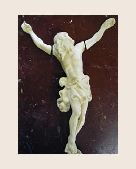 Christus Figur lose Arme anleimen