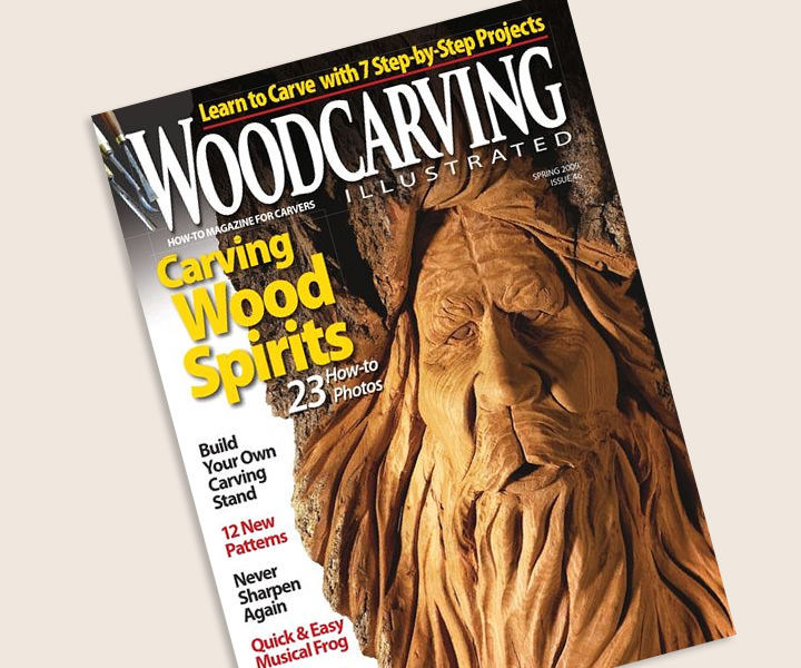 Woodcarving Illustrated Magazin