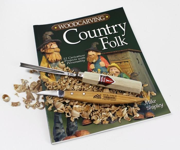 Schnitzermagazin Country Folk mit Schnitzeisen