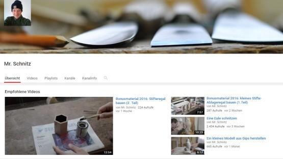 YouTube-Kanal von Mr. Schnitz