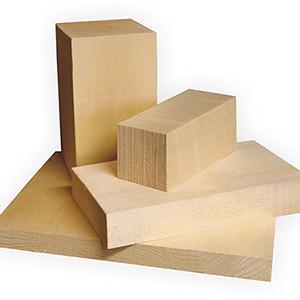 Die Holzsorte ist entscheidend für erfolgreiches Schnitzen